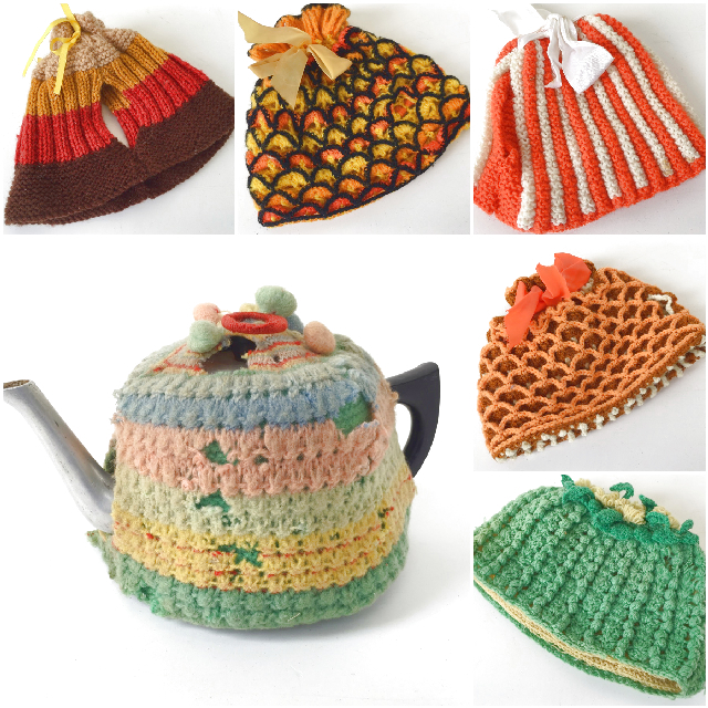 TEA0060 TEA COSY, Knitted $3.75