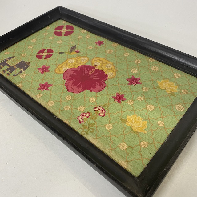 TRA0101 TRAY, Indian Print Rectangular $6.25