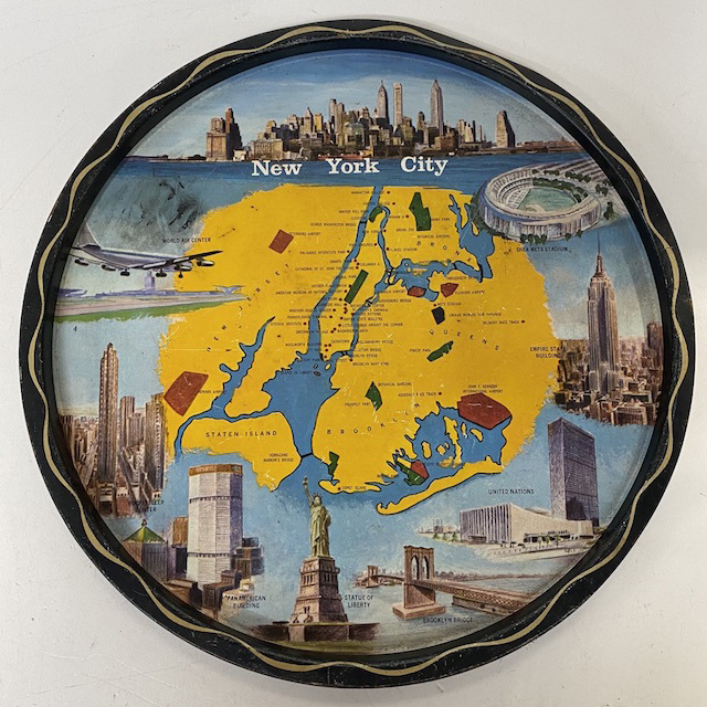 TRA0049 TRAY, New York City Souvenir $7.50