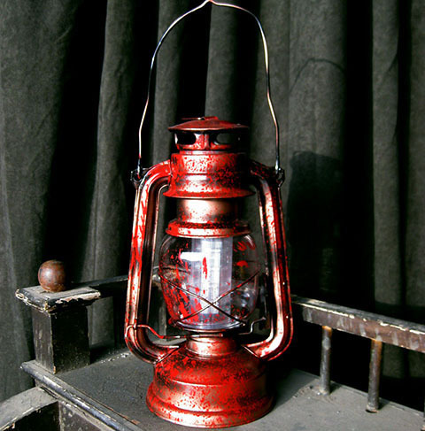 LAN0013 LANTERN, Hurricane - Red Bloodied $12.50