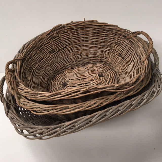 Wicker Laundry Baskets - Small, Medium & Large