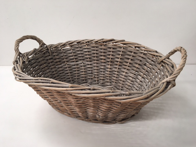 BAS0208 BASKET, Laundry - Small Wicker $12.50