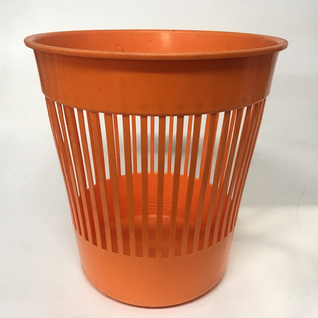 BIN0110 BIN, Orange Plastic 1970's Strip $10