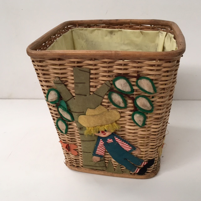BIN0107 BIN, Raffia Country Design $7.50