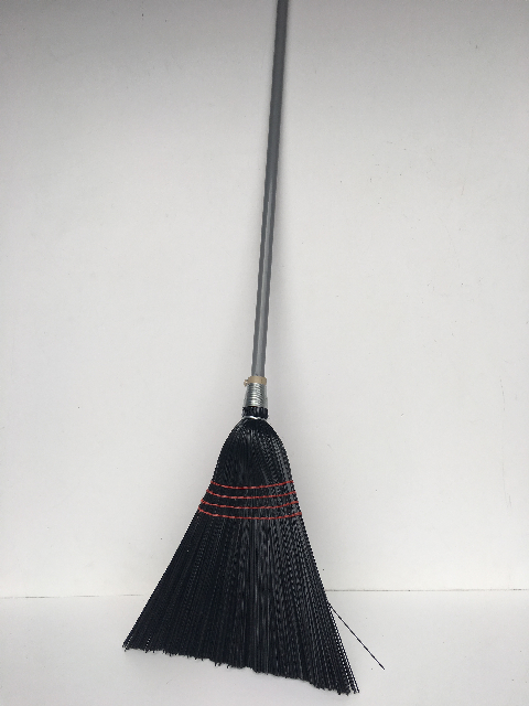 BRO0005 BROOM, Black Synthetic Millet Style $7.50