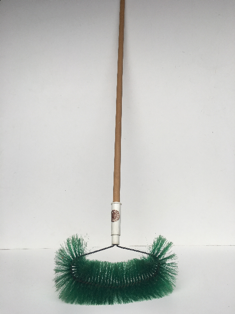BRO0010 BROOM, Green Cobweb Style $7.50