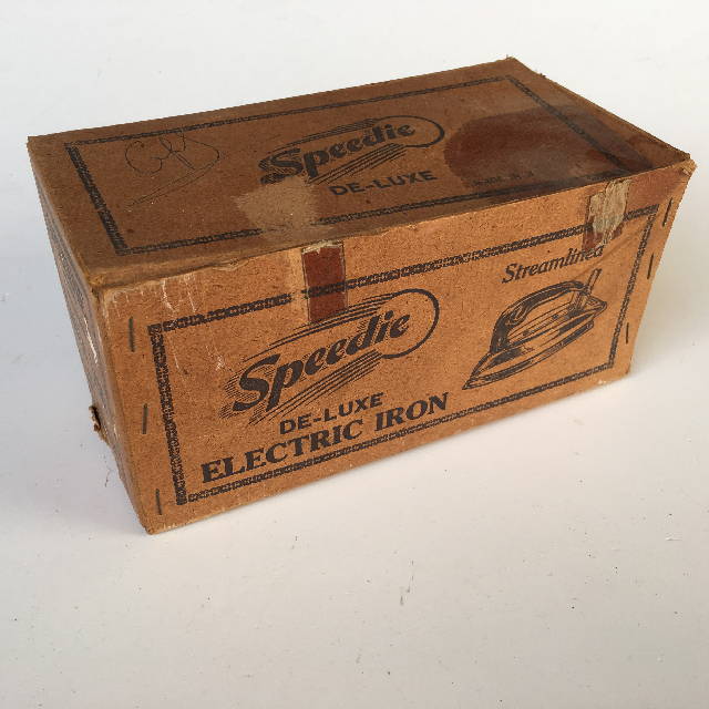 PAC0002 PACKAGING, Speedie Iron Box $6.25