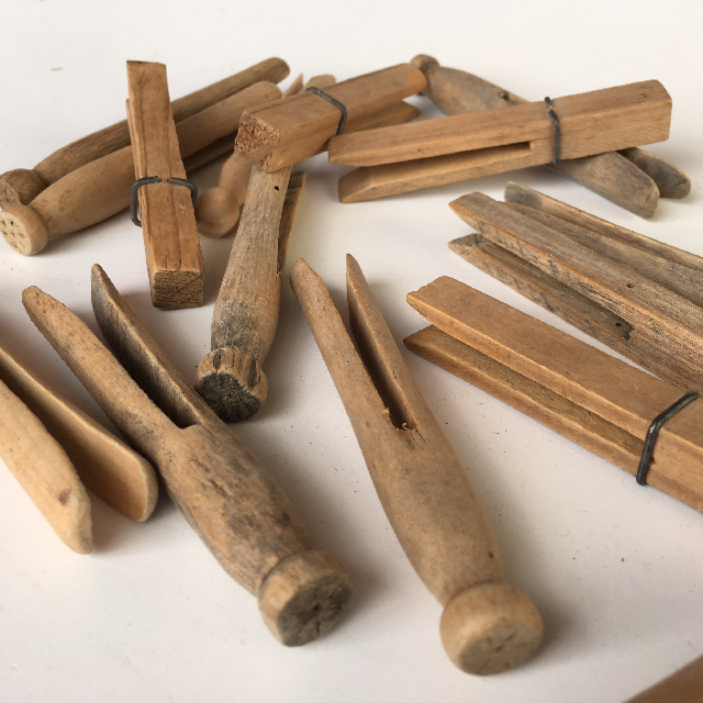 PEG0008 PEGS, Wooden Dolly Pegs $3.75
