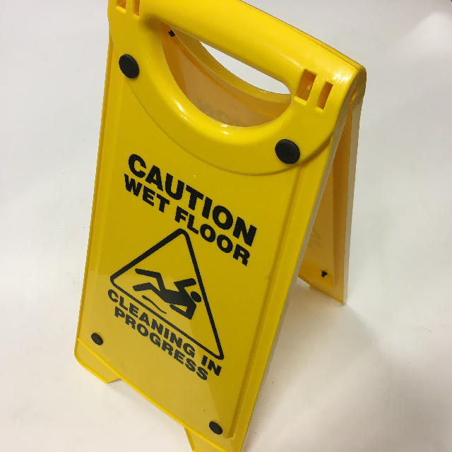 SIG0686 SIGN, Safety A-Frame - Caution Wet Floor $7.50