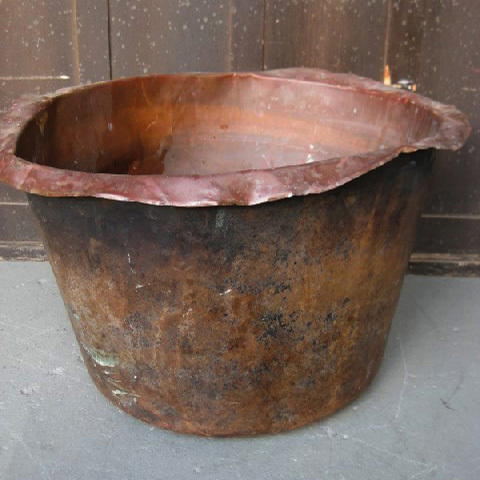 TUB0006 TUB, Large Beaten Copper $30