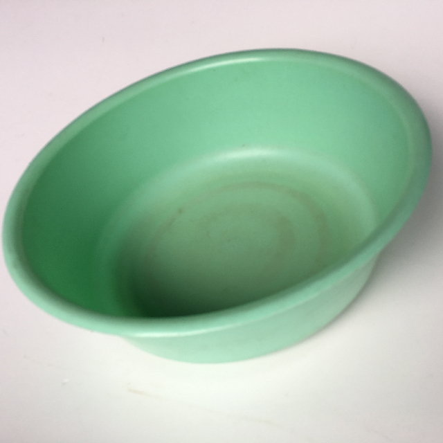 BOW0001 BOWL, Wash Bowl Green Plastic  $6.25