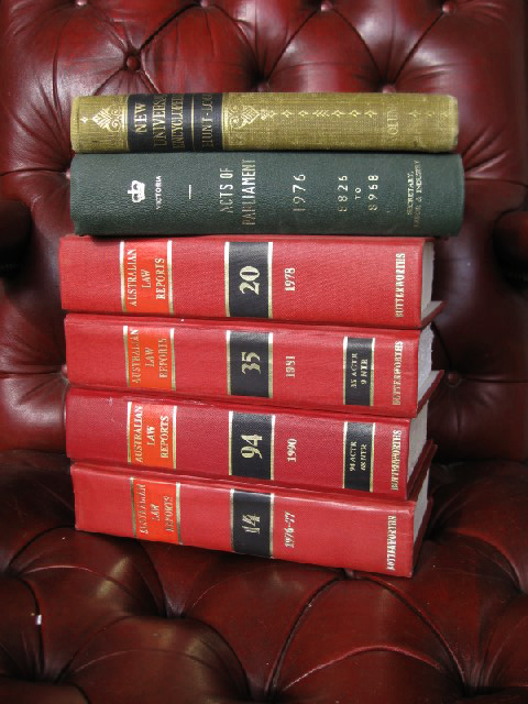 Styling - Law Books on Chair