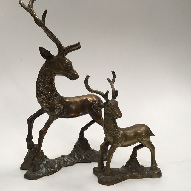 DECOR, Deer Brass - Large $11.25 & Small $6.25