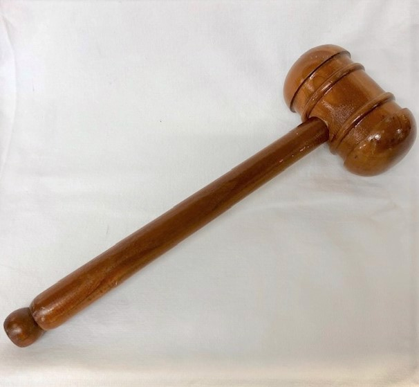 GAV0001 GAVEL, Round ended $15