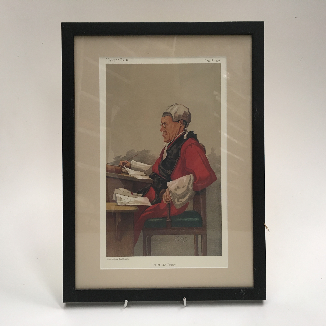 ART0024 ARTWORK, Framed Print Judges - Vanity Fair 3 $20