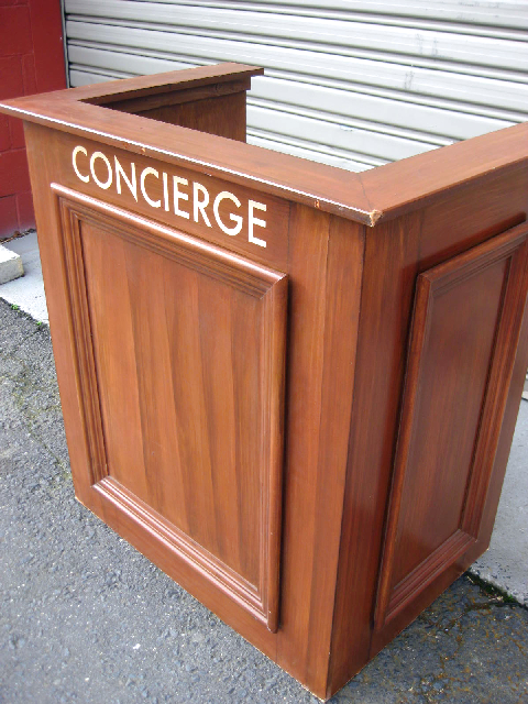 STA0150 STAND, Concierge Stand or Court Witness Box $87.50
