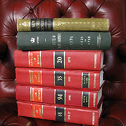Styling - Law Books on a Chair