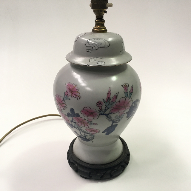 LAM0315 LAMP, Base (Table), Asian - Pink Blossom $12.50