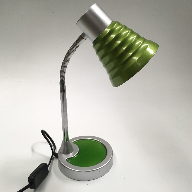 LAM0471 LAMP, Desk or Bedside Light - Small Anodised, Green $6.25