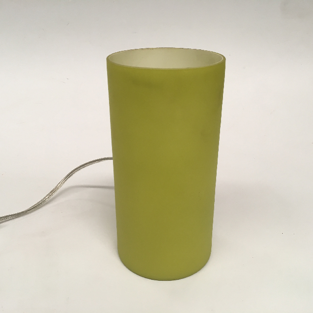 LAM0487 LAMP, Table Lamp - Glass, Green Frosted $6.25