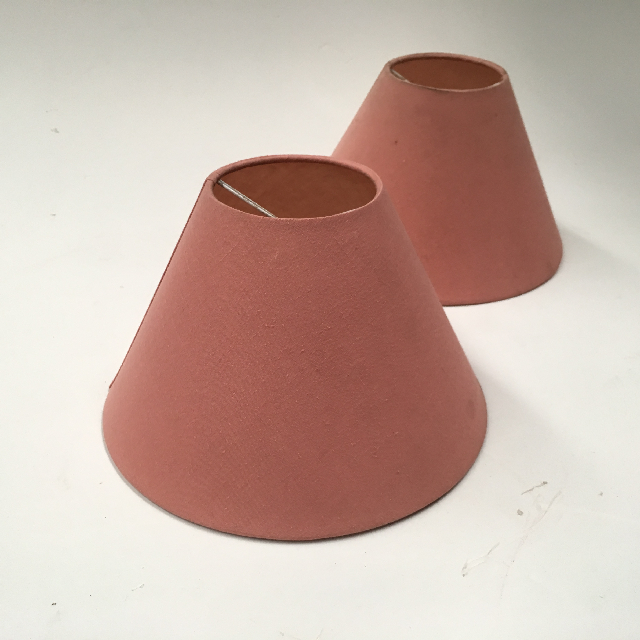 LAM0971 LAMPSHADE, Cone (Small) - Dusty Pink $6.25
