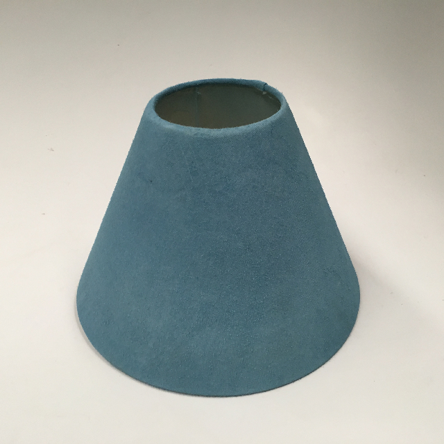 LAM0973 LAMPSHADE, Cone (Small) - Light Blue $6.25