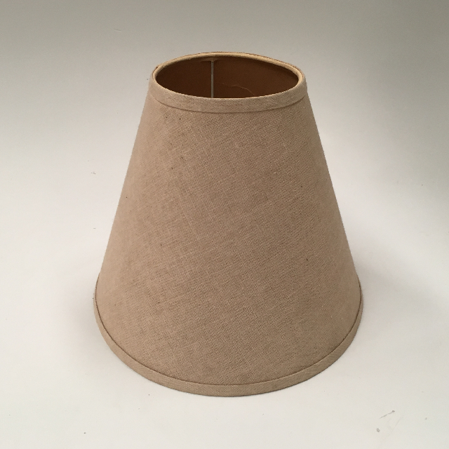 LAM0974 LAMPSHADE, Cone (Small) - Natural Beige $6.25
