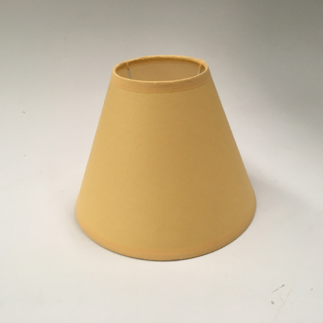 LAM0979 LAMPSHADE, Cone (Small) - Pale Yellow $6.25