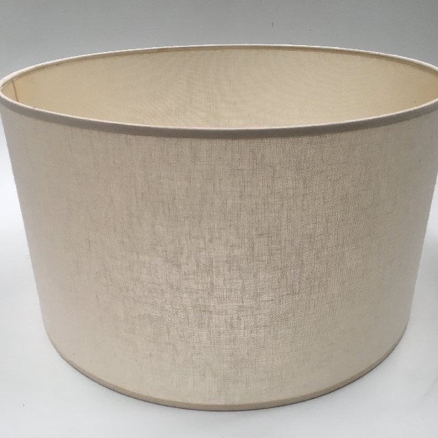LAM0989 LAMPSHADE, Contemp (Large) - Drum, Natural Woven $18.75