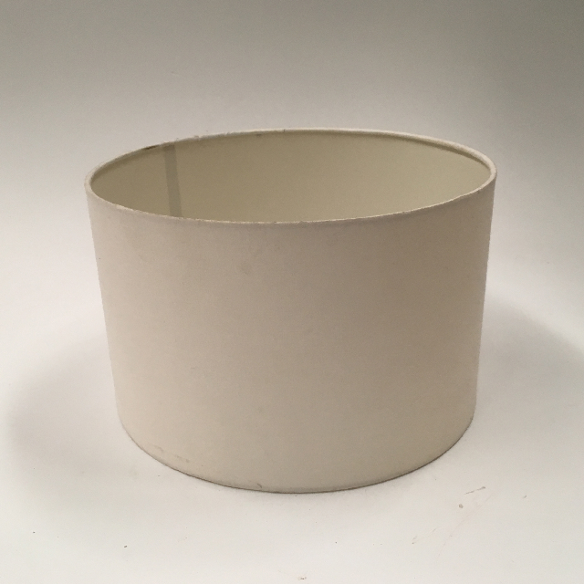 LAM1112 LAMPSHADE, Contemp (Small) - Drum, Natural White $7.50