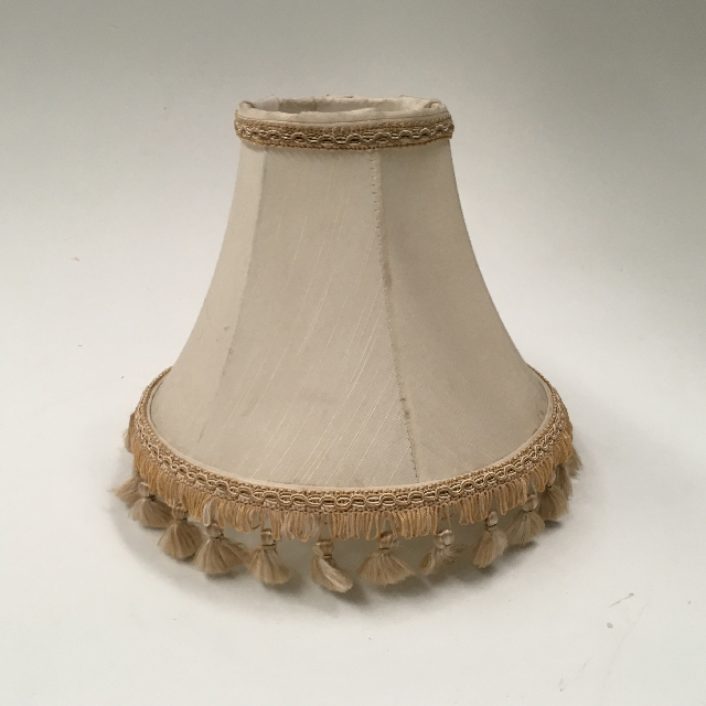 LAM0127 LAMPSHADE, Empire Style (Small) - Natural Cream W Fringe $8.75
