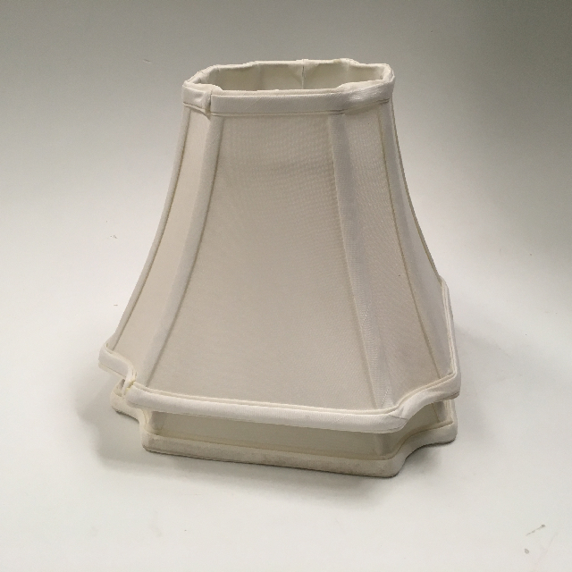 LAM1145 LAMPSHADE, Empire Style (Small) - White Square $12.50