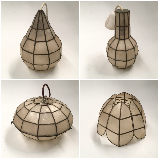 Selection of Mother of Pearl Lampshades