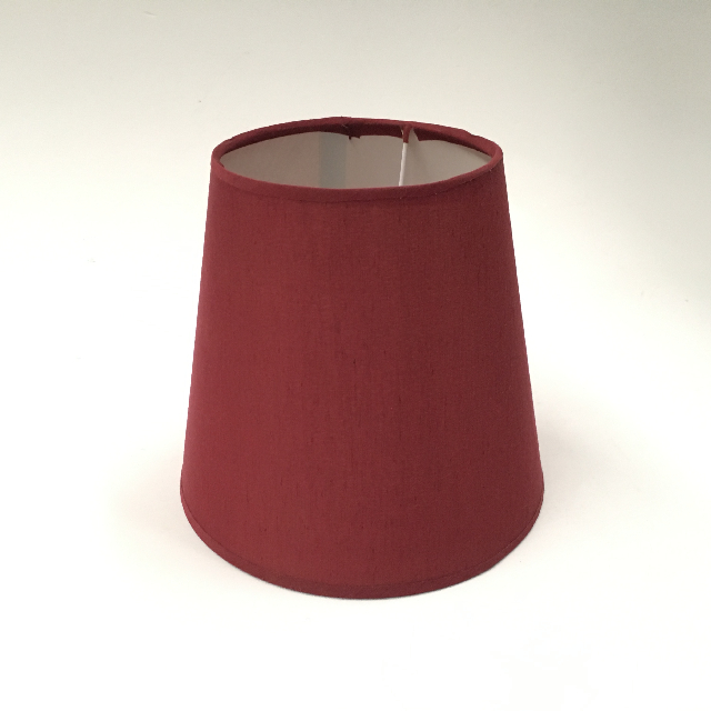 LAM1208 LAMPSHADE, Small Rust Red $6.25