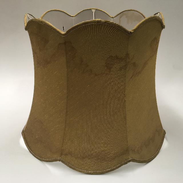 LAM1232 LAMPSHADE, Vintage (Large) - Olive Green (Watermarked) $18.75