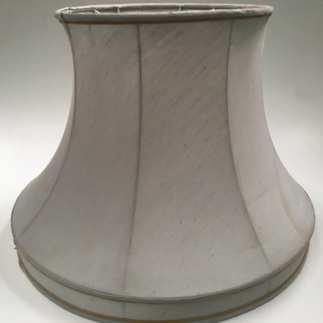 LAM1235 LAMPSHADE, Vintage (Large) - Pale Blue Grey $18.75