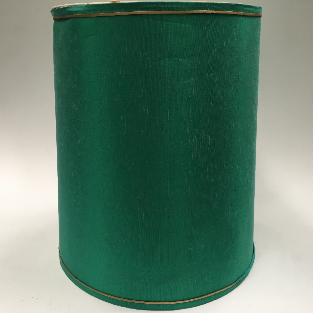 LAM0929 LAMPSHADE, 1960s 70s (Large) Turquoise Blue Green $18.75