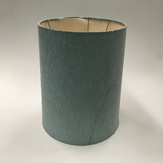 LAM0942 LAMPSHADE, 1960s 70s (Medium) Pale Blue (stained) $10