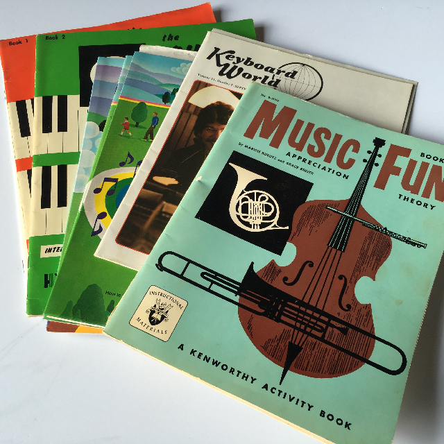MUS0004 MUSIC BOOK, Exercise Book $2.50