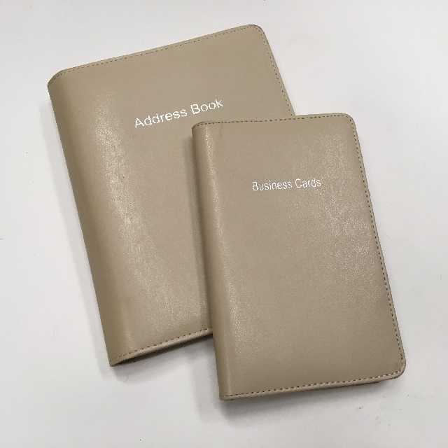 ADD0010 ADDRESS BOOK, Cream Set $10