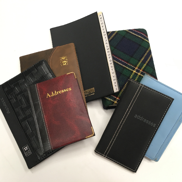 ADD0011 ADDRESS BOOK, Small Assorted $3