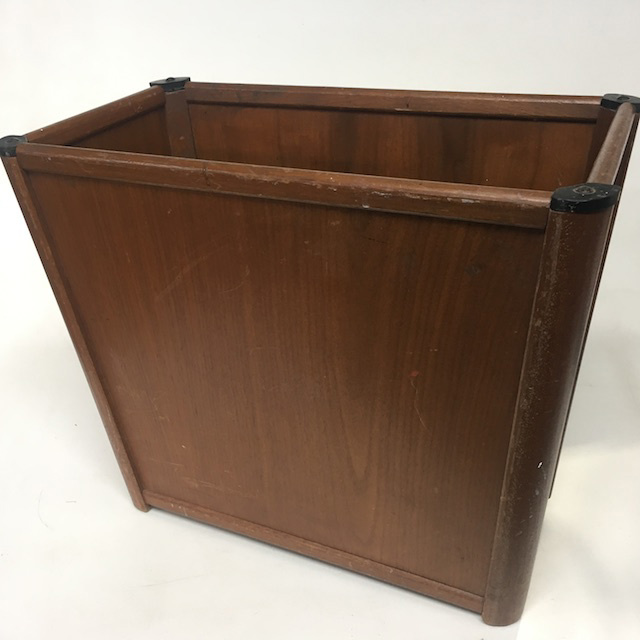 BIN0125 BIN, Splayed Wood Veneer $15