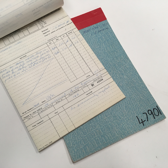 BOO0062 BOOK, Record Book - Pale Blue $3.75