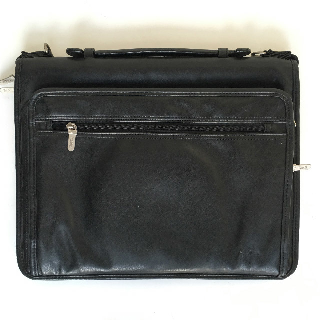 BRI0045 BRIEFCASE, Softcase - Black $10