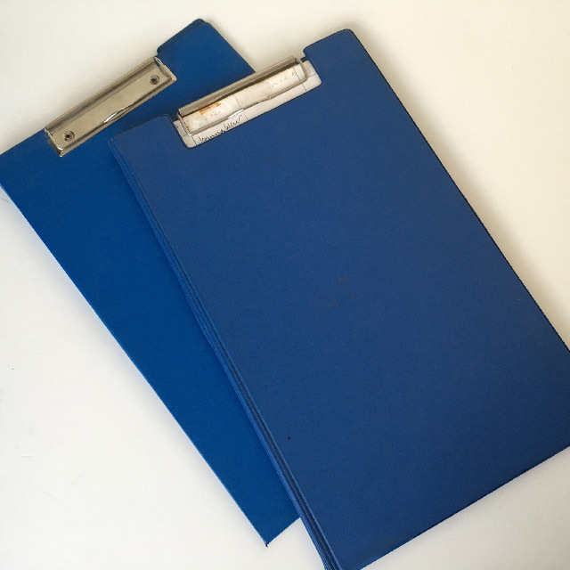 CLI0001 CLIPBOARD, Blue Vinyl $2.50