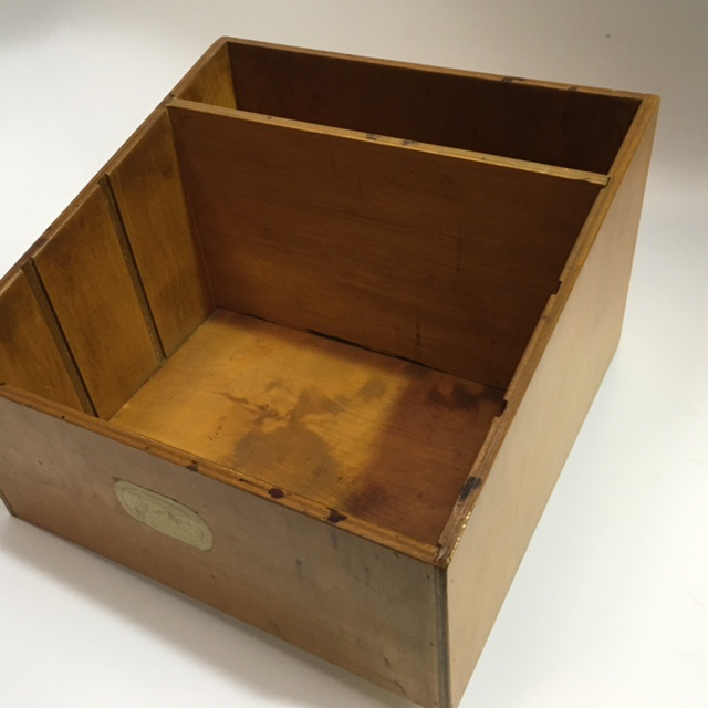 DOC0026 DOCUMENT BOX, Timber $18.75