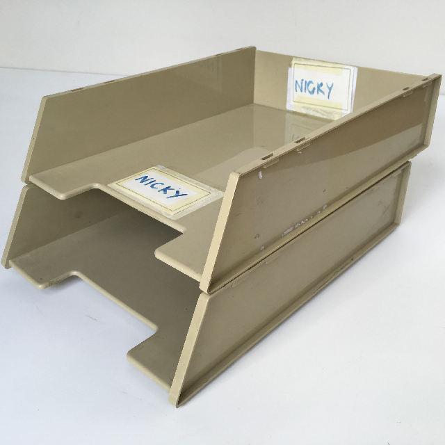 DOC0002 DOCUMENT TRAY, Beige $3