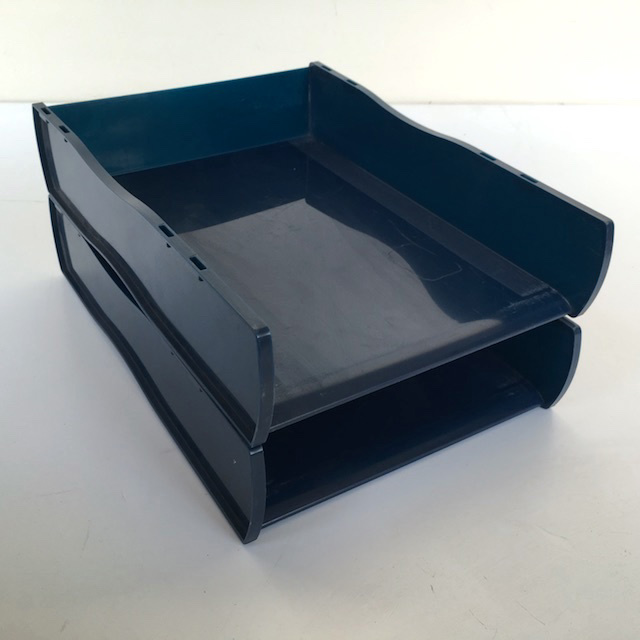 DOC0037 DOCUMENT TRAY, Dark Blue $3