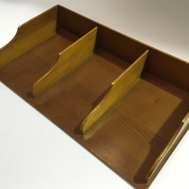 DOC0028 DOCUMENT TRAY, Timber Triple  $22.50