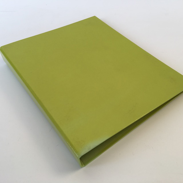 FIL0064 FILE, Ring Binder Small - Green (Lime) $1.50